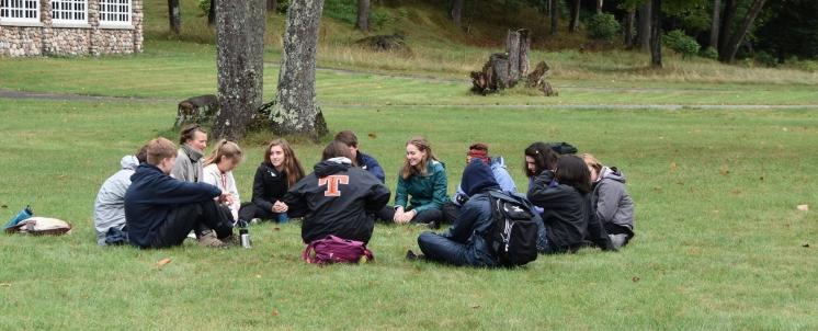 Rachael teaching Environmental Stewardship at Conserve School (2017)